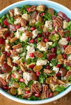 Chopped Chicken, Apple and Kale Salad - we can't get enough of this salad. It's healthy, fresh and super delicious!