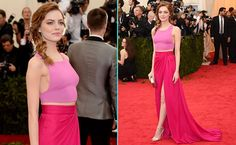 ANDPOP | Look For Less: Emma Stone's Pretty In Pink Met Gala Look
