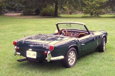 Racing Green Triumph Spitfire MKII with Tan Interior