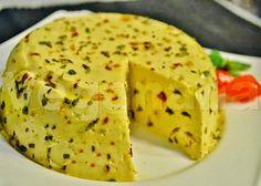 Queijo Cremoso de Macadâmia com Cúrcuma e Ervas Aromáticas ~ Creamy Macadamia Cheese with Turmeric - Veganana