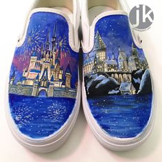 5.12.16 [how to paint canvas shoes] — the art of jillian kaye