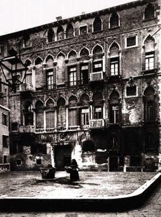 Palazzo Fortuny | photoprint ca 1890 |