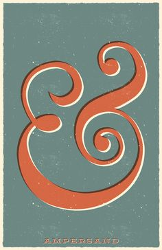 Ampersand Art Print by Bill Pyle on Society6.com