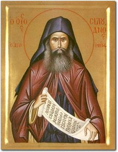 Saint Silouan, elder of Mount Athos Saint Silouan the Athonite was an Eastern Orthodox monk of Russian origin, born Simeon Ivanovich Antonov who was a poet and monk of the St. Best Icons, Byzantine Art, Orthodox Christianity, How To Show Love, Orthodox Icons, Religious Art, Religious Icons, More Icon, Favorite Person