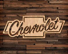 Carved Wood Wall Art, Wood Art, Metal Signs, Wooden Signs, 3d Signs, Chevy Tattoo, Plasma Cutter Art, Scroll Saw Patterns, Stain Colors