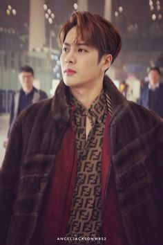 Jackson's hypewoman and wife - The air pollution in Milan did its thing to. Yugyeom, Youngjae, Got7 Jackson, Jackson Wang, Jinyoung, How To Speak Korean, Air Pollution, Asian Boys, Milan