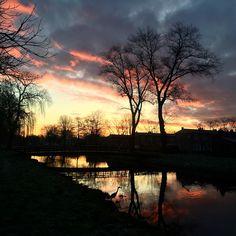 Sunrise during morningwalk!  #morningwalk #nature #sun #sunrise