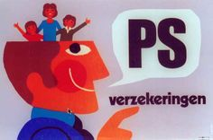 PS verzekeringen by Charles Rohonyi, 1970  Poster for Prévoyance Sociale.  Source: museuminzicht