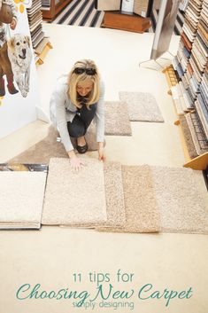 Want new carpet but you're not sure where to start. Click through to see what you need to look for when choosing a new carpet, how to figure out what the quality is with one simple trick, and how to decide what style of carpet best fits your home.