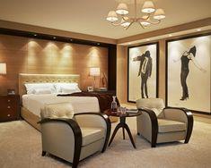 Luxus dekoráció a hálószobában Art Deco Bedroom, Luxury Bedroom Design, Modern Mansion, Luxurious Bedrooms, Bedroom Furniture, Home And Garden, House, Inspiration, Interior Ideas