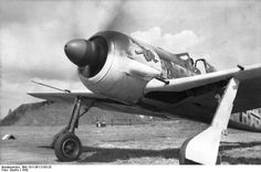 Fw 190A-3 of JG 1 in the Netherlands, summer 1942.