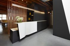 CREATIVE OFFICES! Paper Stone Scissors office by Russell & George, Melbourne office healthcare
