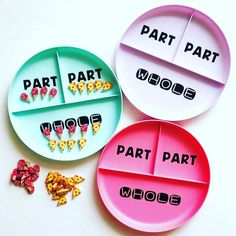 is using plates to use at her math centers! These plates are super cheap in the kitchen section! Math For Kids, Fun Math, Special Education Math, Second Grade Math, Grade 2, 2 Kind, Math Classroom, Classroom Ideas, Classroom Activities