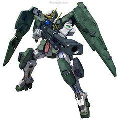 Bandai MG Gundam Dynames Mobile Suit Gundam 00 (Double O) Gundam 00, Future Soldier, Plastic Model Kits, Plastic Models, Providence Gundam, Rifle Stand, Pistol Holster, Gundam Seed, Gundam Model