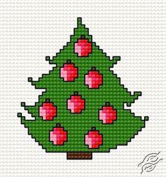 Christmas Tree III - Free Cross Stitch Pattern