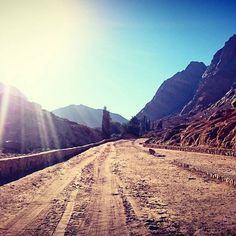 The track to Moses Mountain and Saint Catherine's Monastery.  #gadv #gceo #travel #wanderlust #tracking #thisisegypt