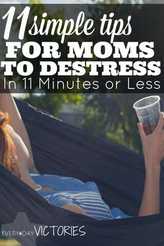 Sometimes I think I am going to lose it. And, then I do. So I started practicing these tips for moms to destress immediately and effectively. They have calmed me into a stress free mama I wanna be to show up for my kids! I love the BONUS tip too - KISSING! Honestly, it's my favorite.