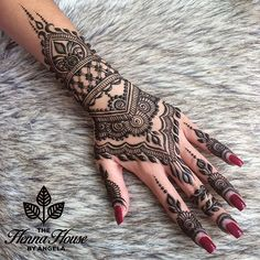 The Henna House by Angela @hennabyang on Instagram photo September 5