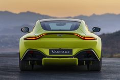 New Aston Martin Vantage Combines Supermodel Looks With AMG Power Carros Aston Martin, New Aston Martin, Aston Martin Cars, Aston Martin Vanquish, Aston Martin Vantage, Super Sport Cars, Super Cars, Peugeot, Bugatti
