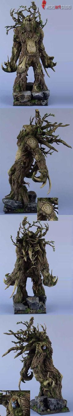 Wood Elf Treeman