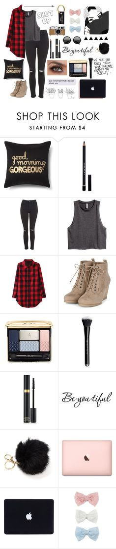 """""""I Can't Adult Today"""" by juststopandbreath on Polyvore featuring Xhilaration, Givenchy, Topshop, H&M, Guerlain, Tom Ford, Schone, Hermès and Decree"""