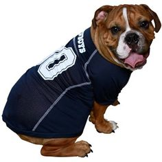 Official NFL Pet Jersey! great for your favorite furry fan. haha     Bucksbee Blog- Tailgate Ideas #NFL #Football #Tailgate