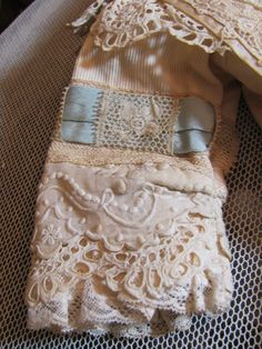 """Thank you 'C'_Bebe Dress for 27""""-28"""" French or German Doll w/matching Bonnet_"""