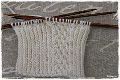 Suvikumpu: Nappivarsisukat - ohje Knitting, Tricot, Breien, Stricken, Weaving, Knits, Crocheting, Yarns, Knitting Stitches