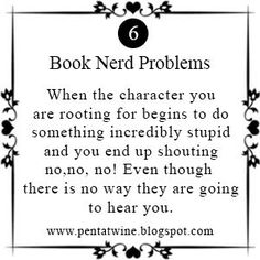 Pentatwine: Book Nerd Problems #6
