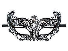 Masquerade Mask Template   Venetian Masquerade Masks Template Venetian mask made of filigree