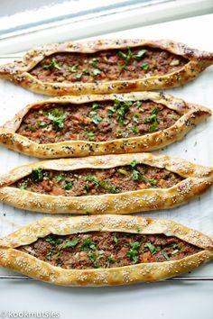 Bbc Good Food Recipes, Great Recipes, Cooking Recipes, Yummy Food, Healthy Food, Dutch Recipes, Turkish Recipes, Lamb Flatbread Recipes, Soft Bread Recipe