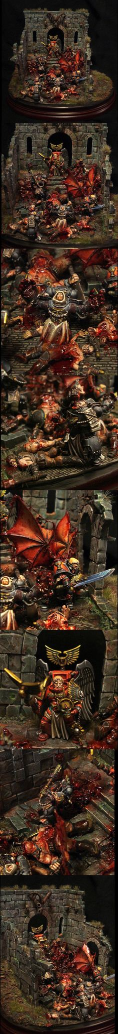Blood, Blood Angels, Chaos, Death Company, Space Marines, Vampire, Violence