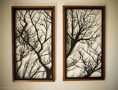 Our most popular shadowbox; this beautiful set of branches represents our vision of Shadowfox. Simple, elegant, and meaningful, this piece of art