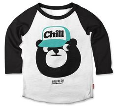 Chill, everyone. Just chill.  Hand Printed Raglan Baseball Tee • Custom Wash • Soft and thin• Slim Fit• 50% Cotton...