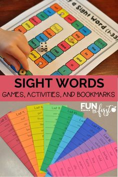 These activities and games make learning sight words so much easier!