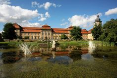 Fasanerie Palace, Fulda.  Study abroad here on our Hessen-Wisconsin Exchange Program. Running December 28th- January 21st, 2017. Application deadline is October 1st. Apply online by visiting us at studyabroad.uwm.edu.