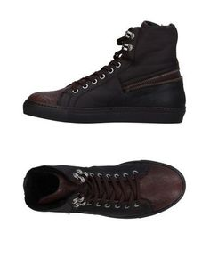 CESARE PACIOTTI Men's High-tops & sneakers Dark brown ...