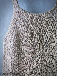 Tops A Crochet, Crochet Crop Top, Crochet Blouse, Knit Crochet, Free Knitting, Knitting Patterns, Crochet Patterns, Crop Top Pattern, Loose Fitting Tops