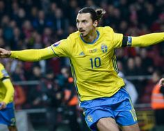 Zlatan after beating Denmark to reach Euro 2016: 'They wanted me to retire I sent the whole country into retirement' by thesportbible