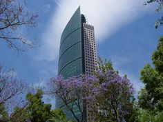 Mayor Tower (225 m.), Mexico City, Mexico