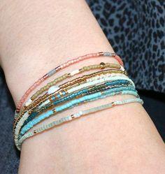 783f0a42b54 De 9 bedste billeder fra DIY   Delica armbånd i 2015   Jewelery ...