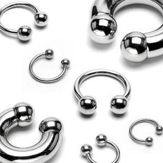 316L Surgical Steel Circular Barbell