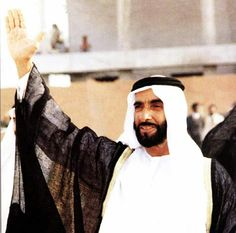 The Great Leader Sheik Zayed ❤