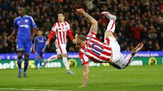 @Stoke Marko Arnautović's second-half goal gave Stoke City a 1x0 victory over Chelsea to pile yet more pressure on the absent Jose Mourinho #9ine