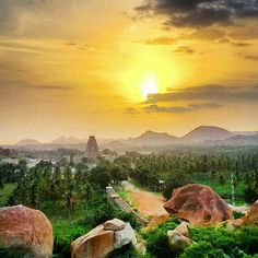 Hampi, India. UNESCO World Heritage.