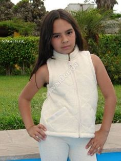 Leichte Unisex #Kinder #Weste, #ökologische #Pima #Baumwolle  Unsere verarbeitete Pima Baumwolle ist naturbelassen und nicht chemisch gefärbt. Natürliche Mode, freundlich zur Haut Ihres Kindes und der Umwelt, aus Peru