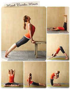 mood boosting yoga postures--AMAZING.