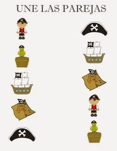 Yo Ho, Yo Ho a pirate's life for me! I'm not sure what the fascination is with pirates but my Little Mister thinks they are great. I admit. Preschool Pirate Theme, Pirate Activities, Pirate Games, Preschool Crafts, Pirate Day, Pirate Birthday, The Pirates, Pirate Crafts, Kids Daycare