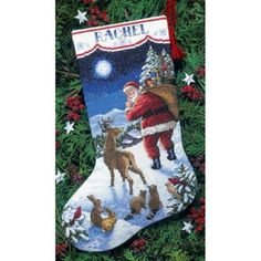 Dimensions® Santa's Arrival Stocking Counted Cross-Stitch Kit $14.29