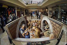 3D Street Painting - Kurt Wenner